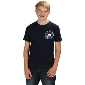 Regatta Bosley II T-Shirt Boys navy/white